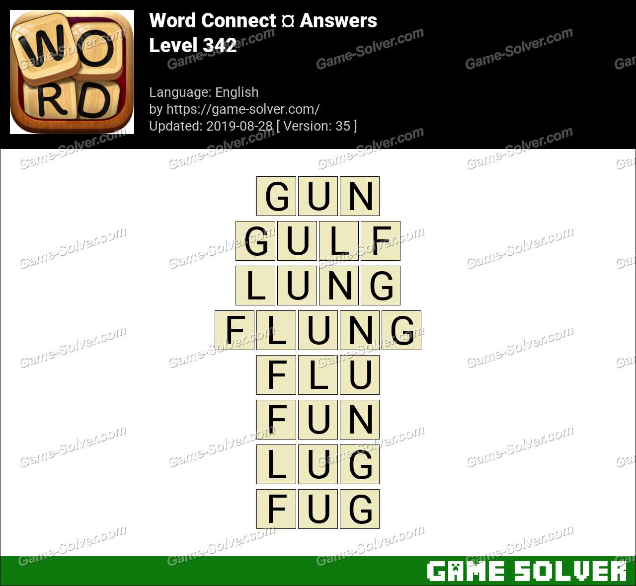 Word Connect Level 342 Answers