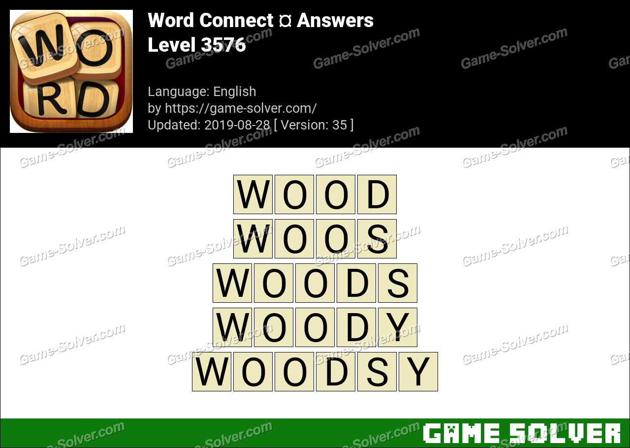 Word Connect Level 3576 Answers