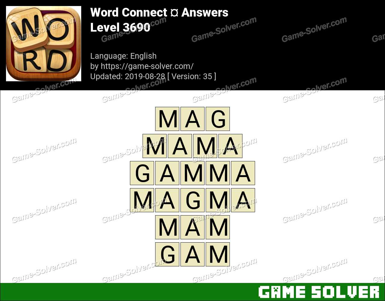 Word Connect Level 3690 Answers