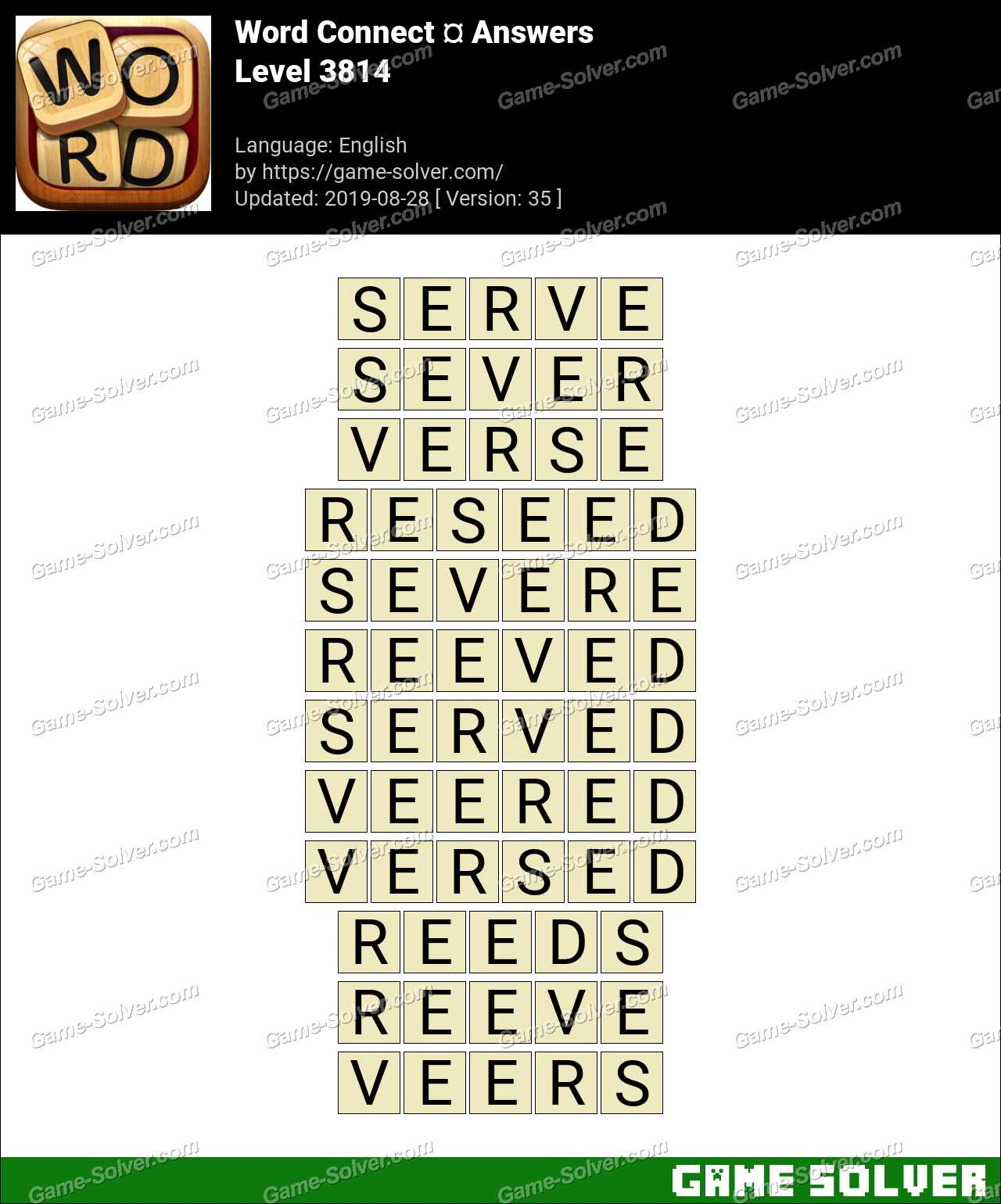 Word Connect Level 3814 Answers