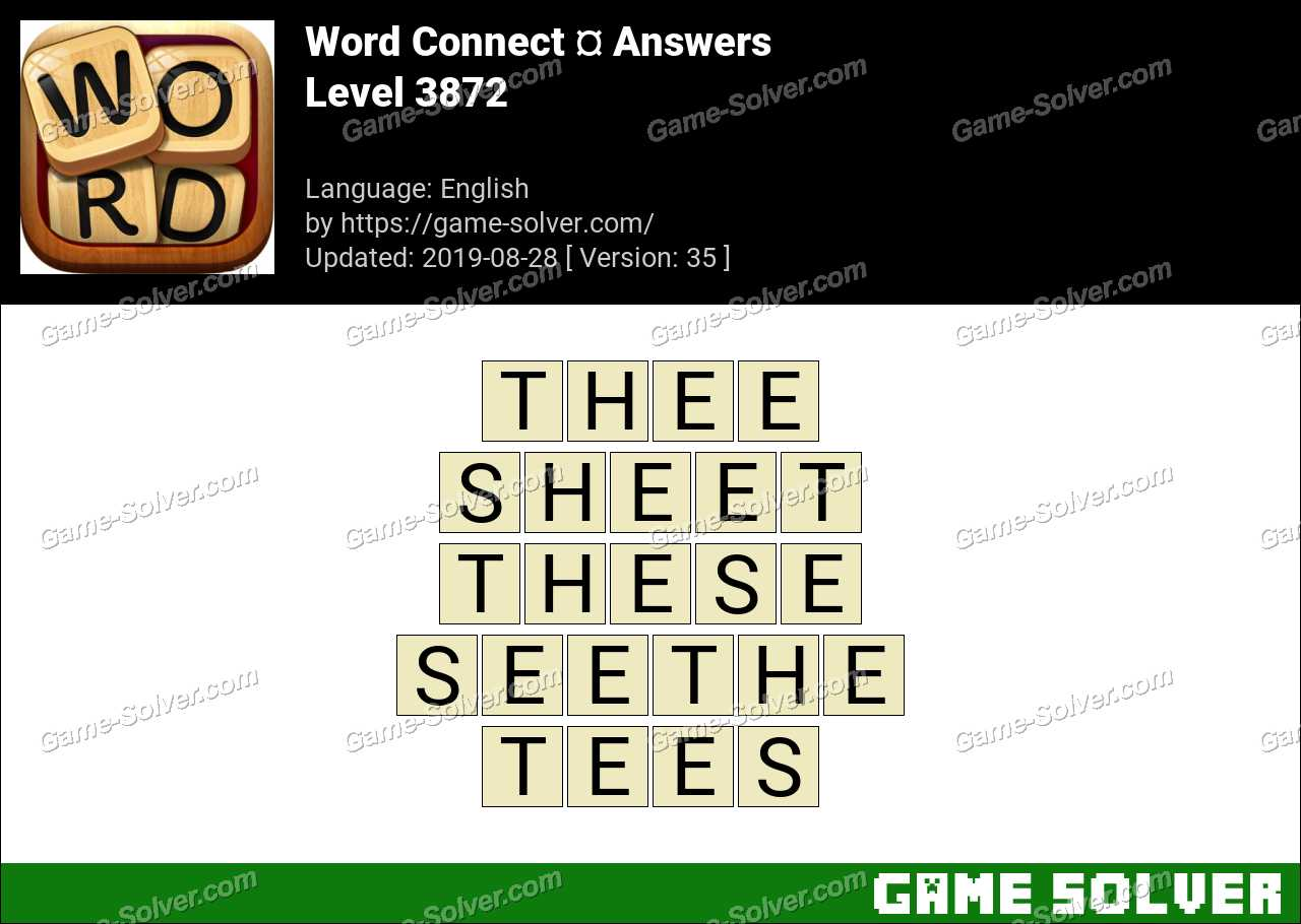 Word Connect Level 3872 Answers