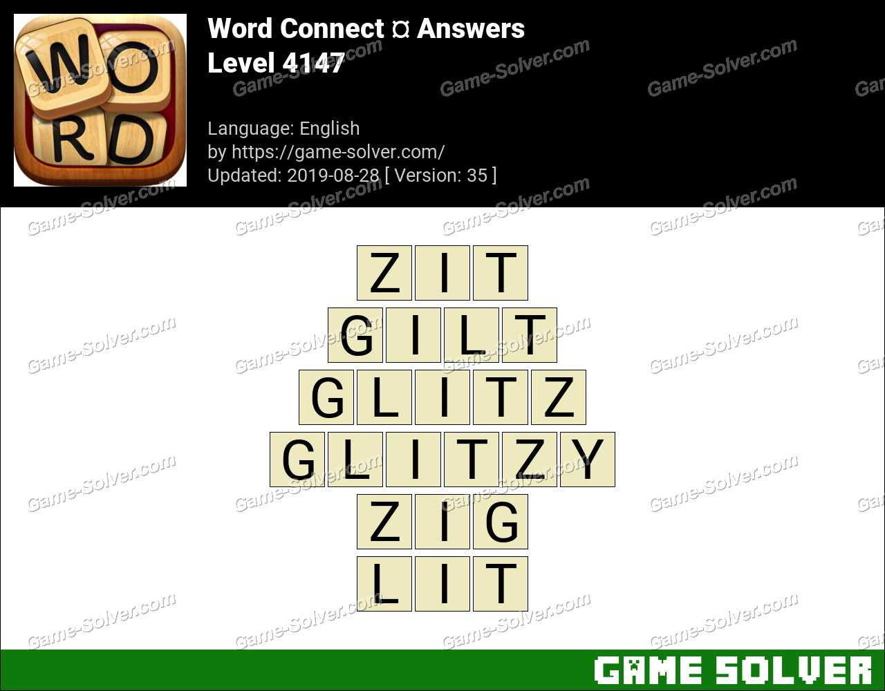 Word Connect Level 4147 Answers