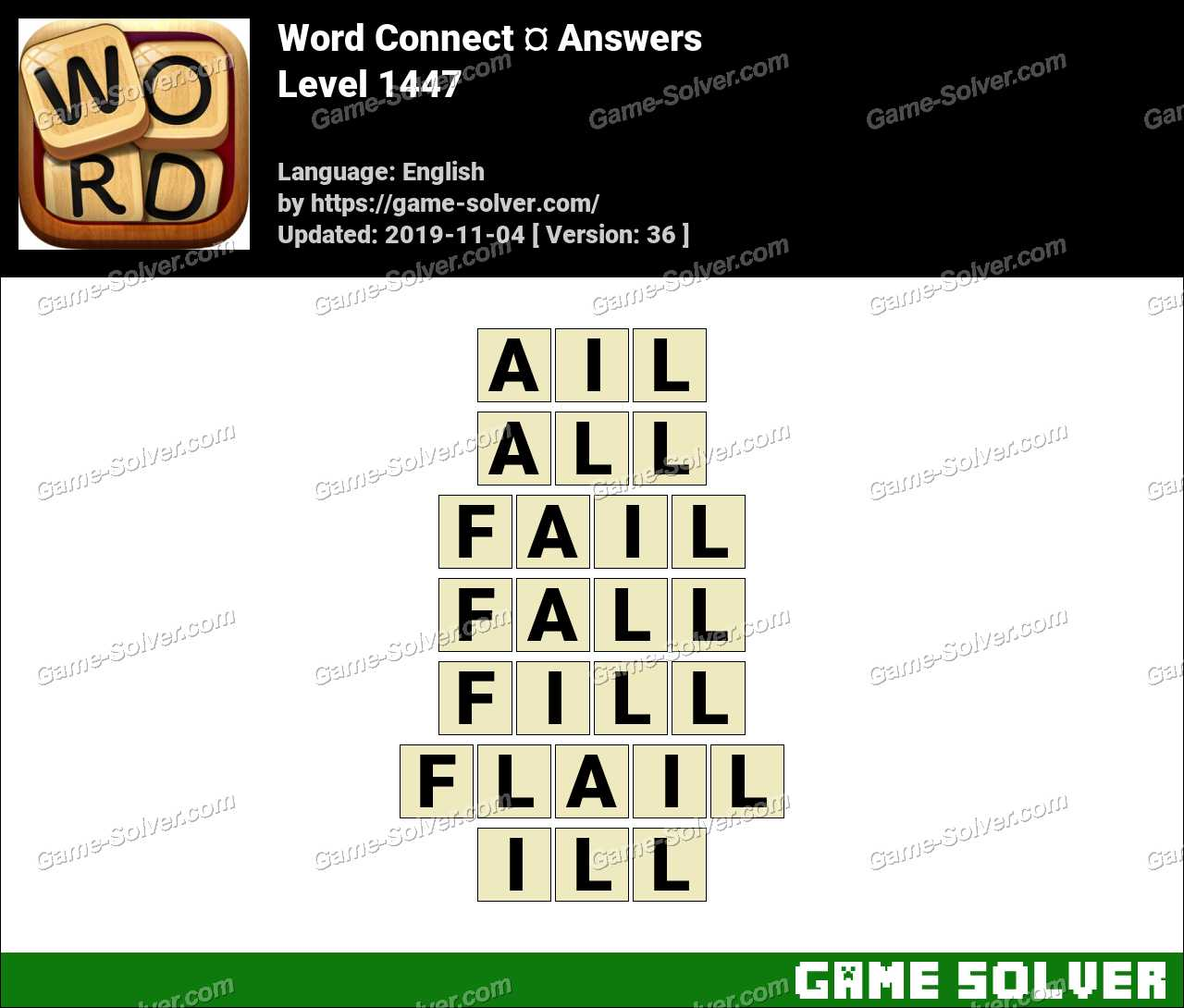 Word Connect Level 1447 Answers