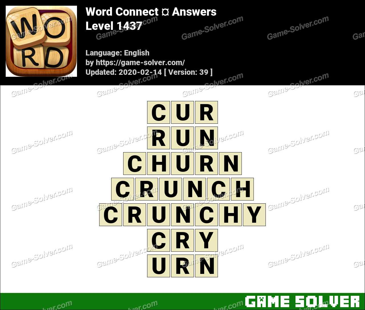 Word Connect Level 1437 Answers