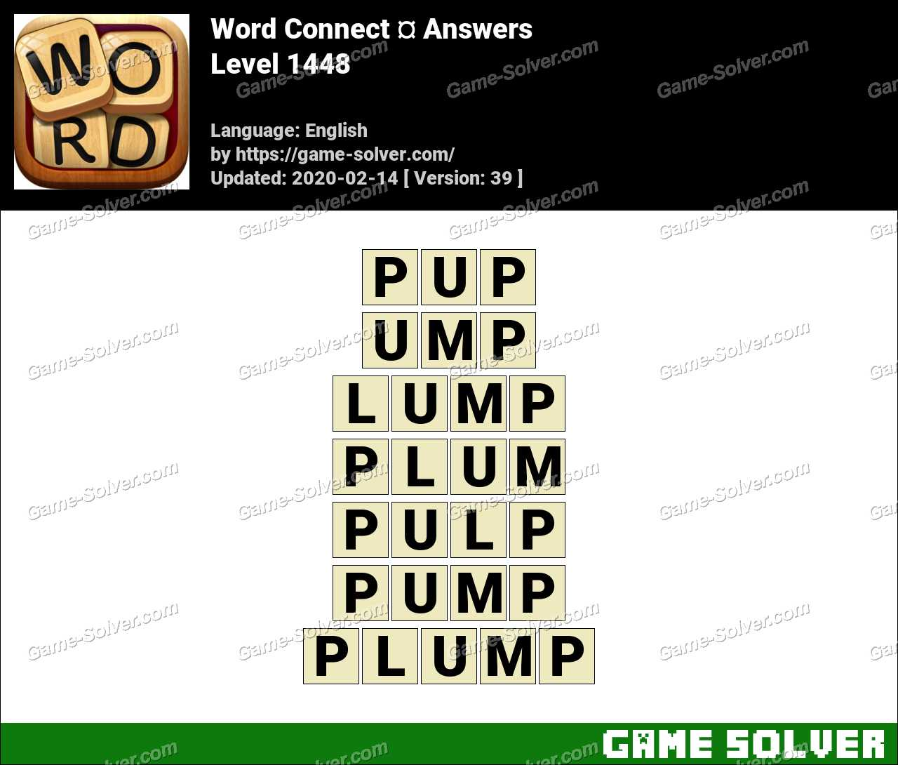 Word Connect Level 1448 Answers
