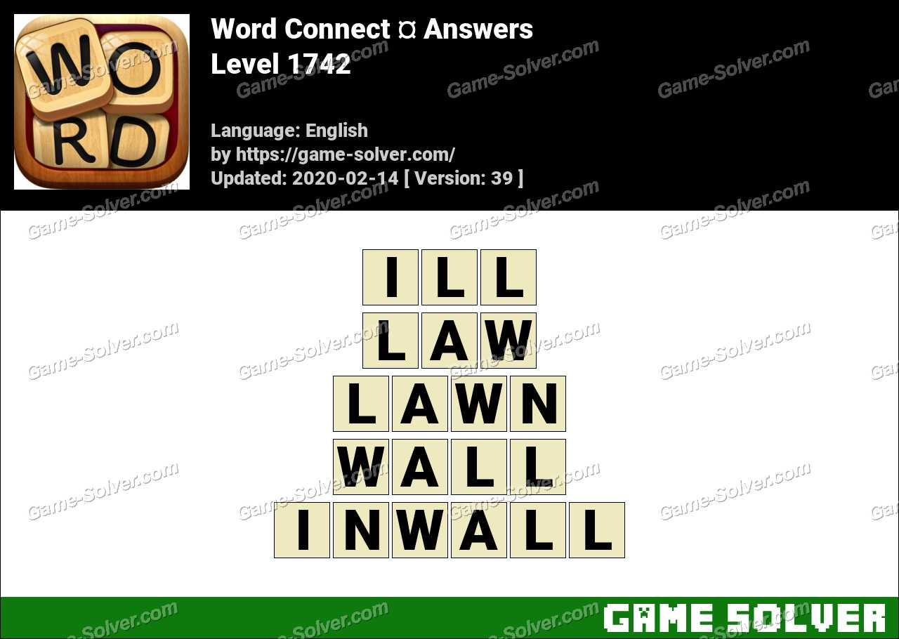 Word Connect Level 1742 Answers