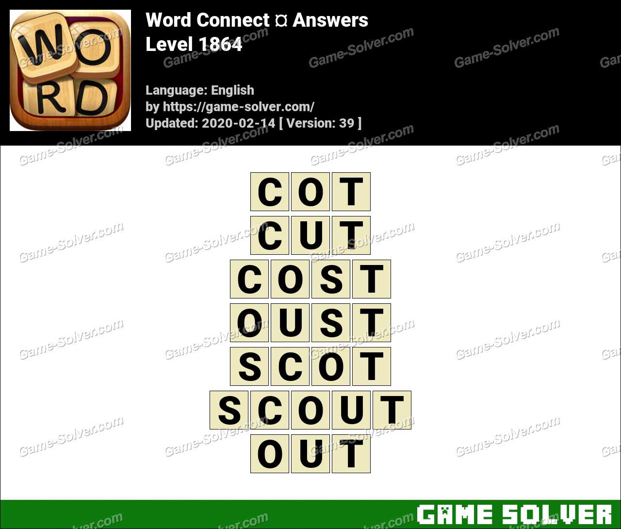 Word Connect Level 1864 Answers