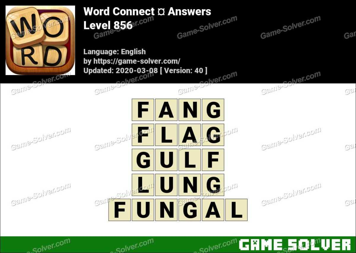 Word Connect Level 856 Answers