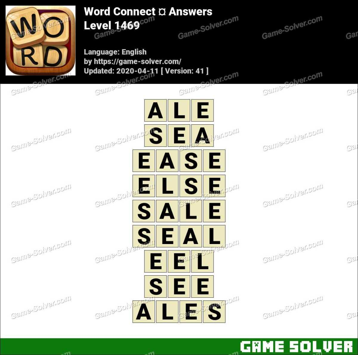 Word Connect Level 1469 Answers