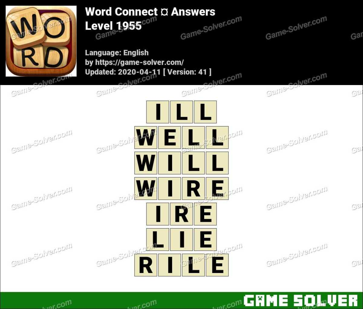 Word Connect Level 1955 Answers