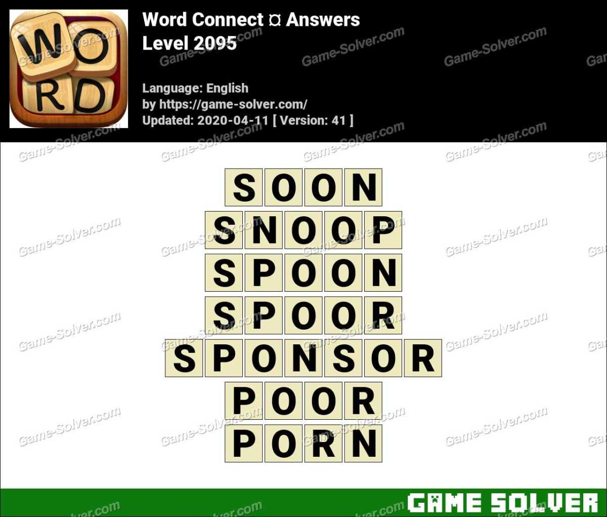 Word Connect Level 2095 Answers