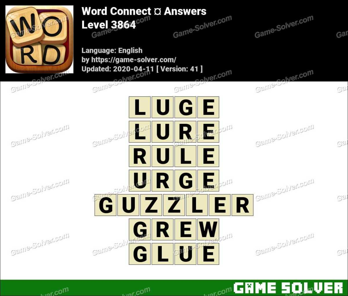 Word Connect Level 3864 Answers