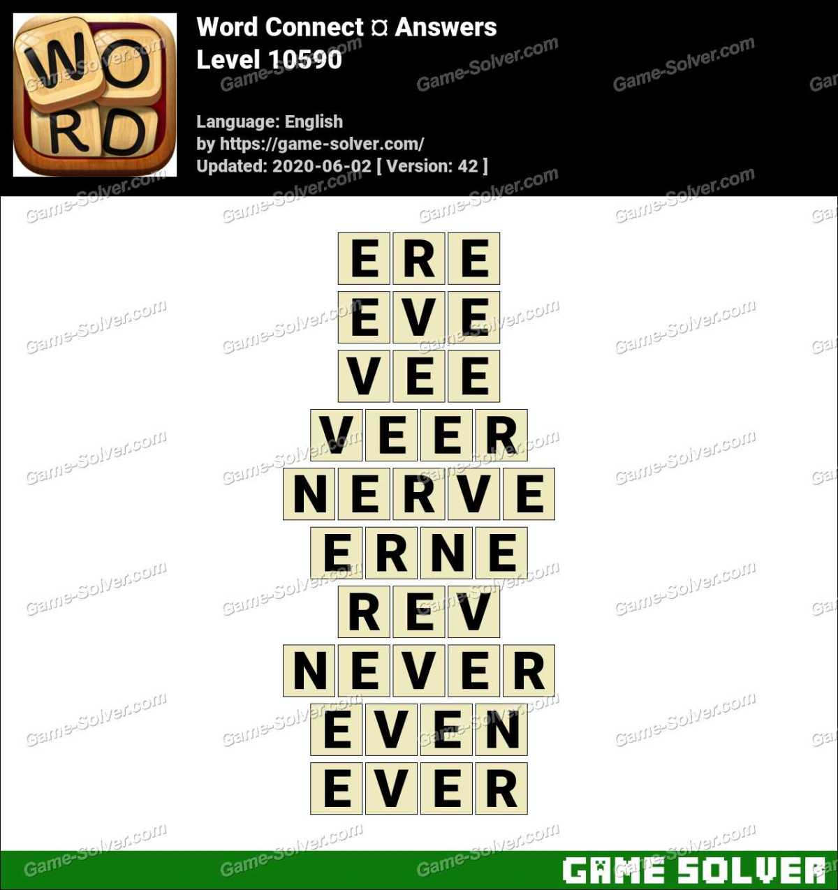 Word Connect Level 10590 Answers