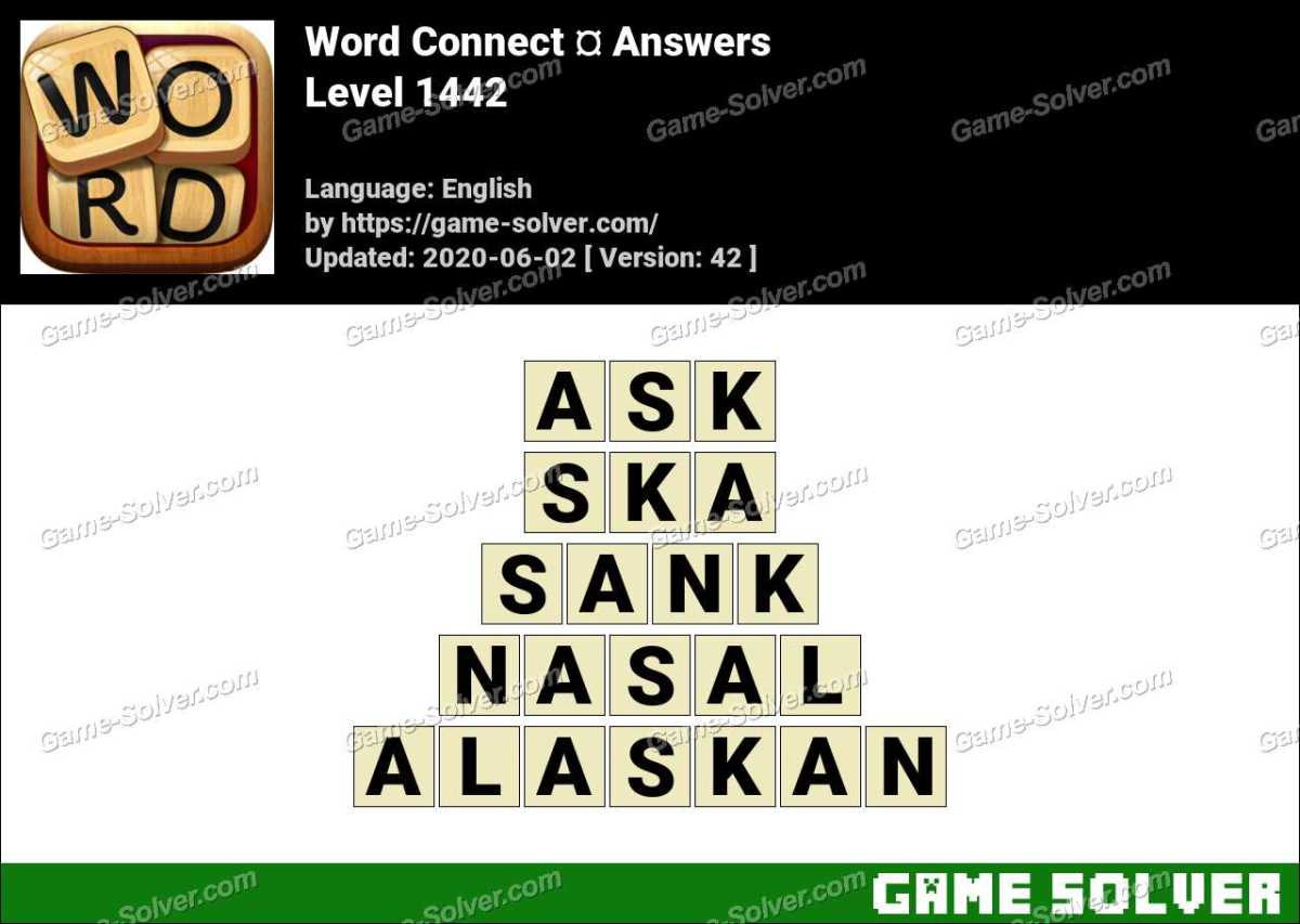 Word Connect Level 1442 Answers