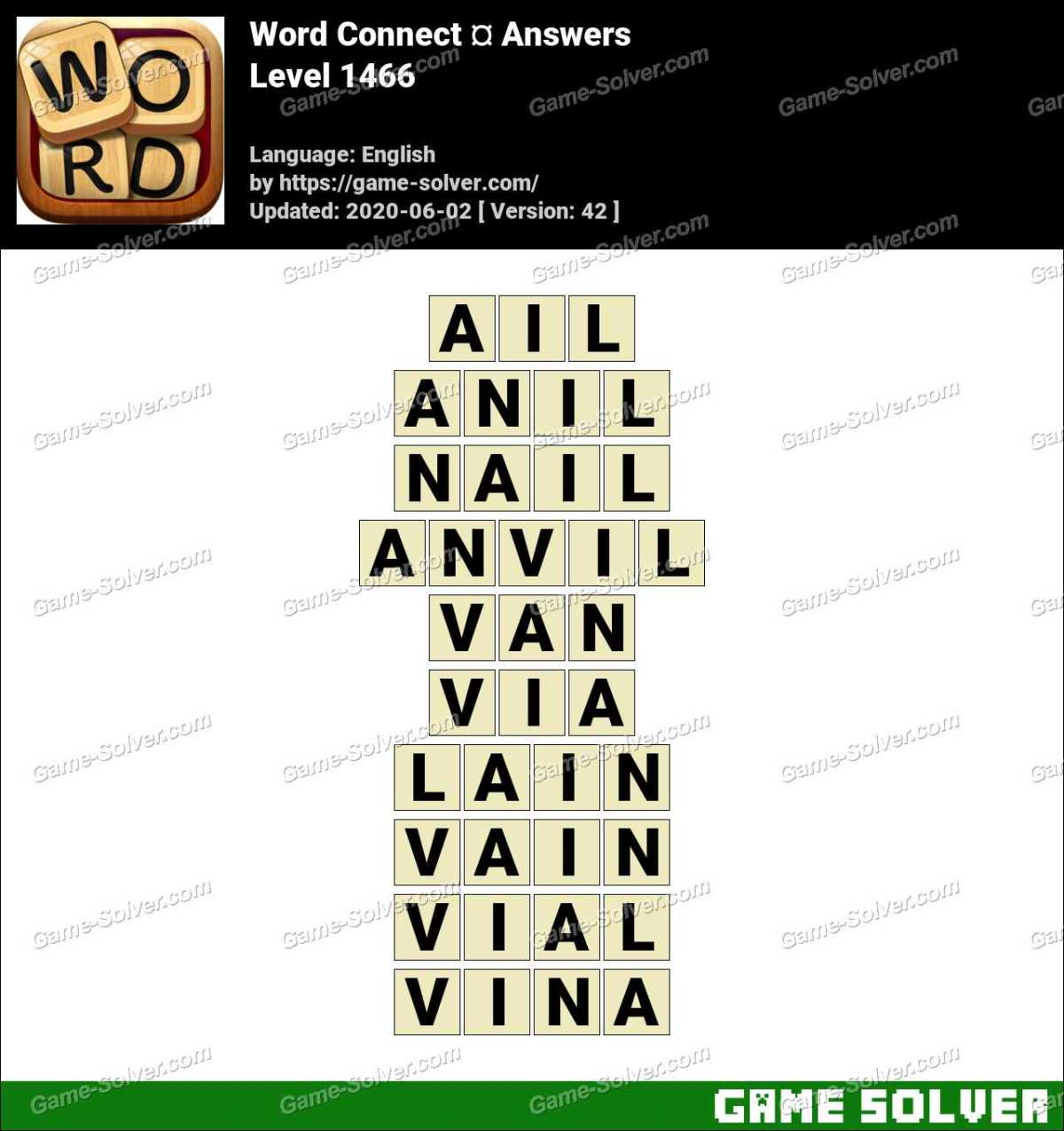 Word Connect Level 1466 Answers