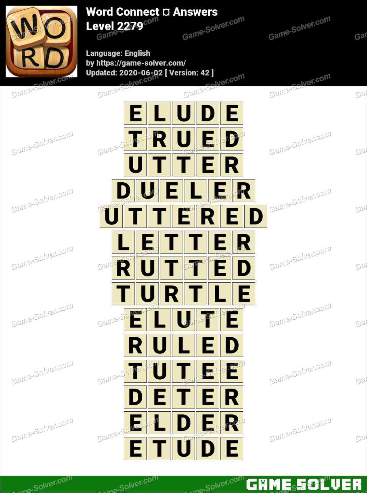 Word Connect Level 2279 Answers