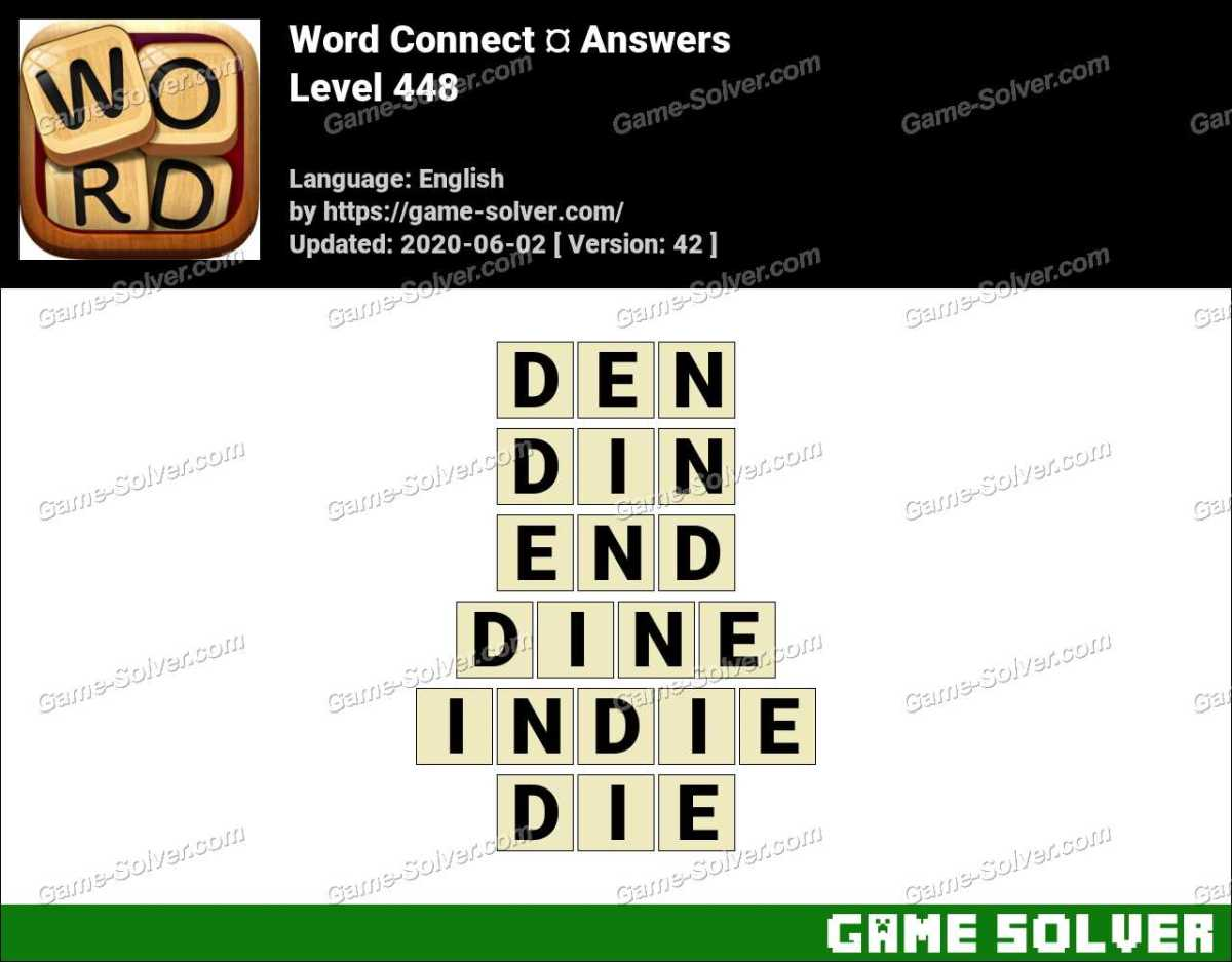 Word Connect Level 448 Answers