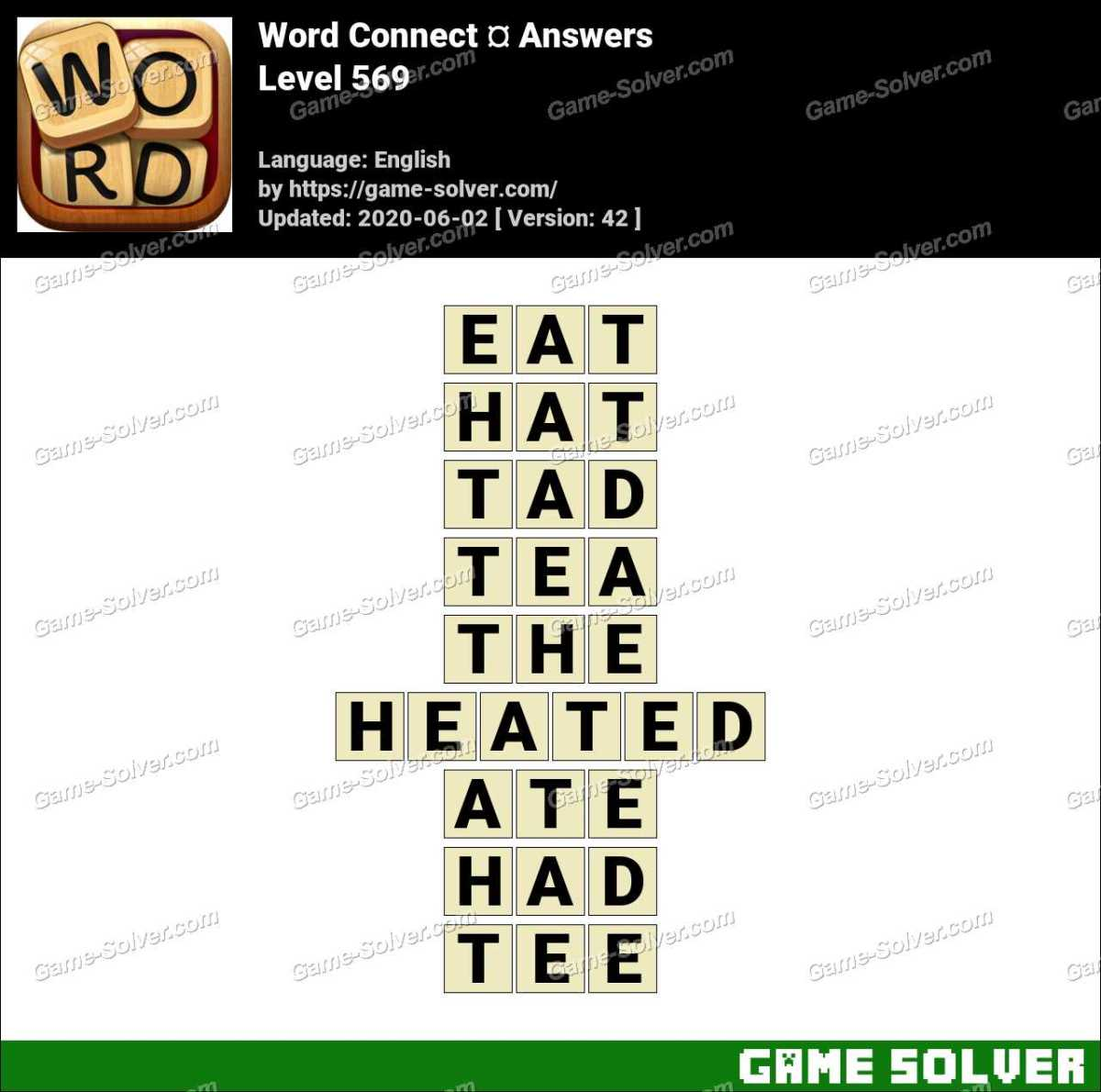 Word Connect Level 569 Answers