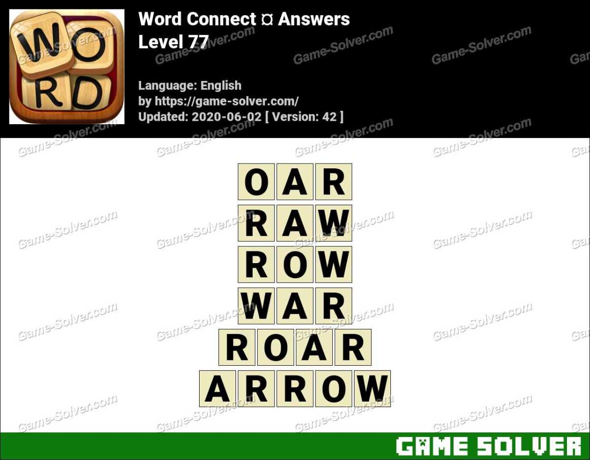 Word Connect Level 77 Answers