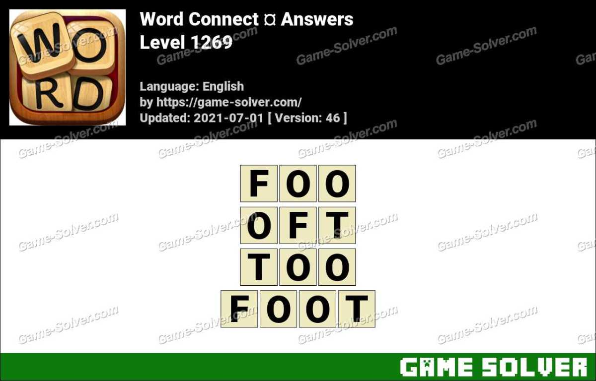 Word Connect Level 1269 Answers