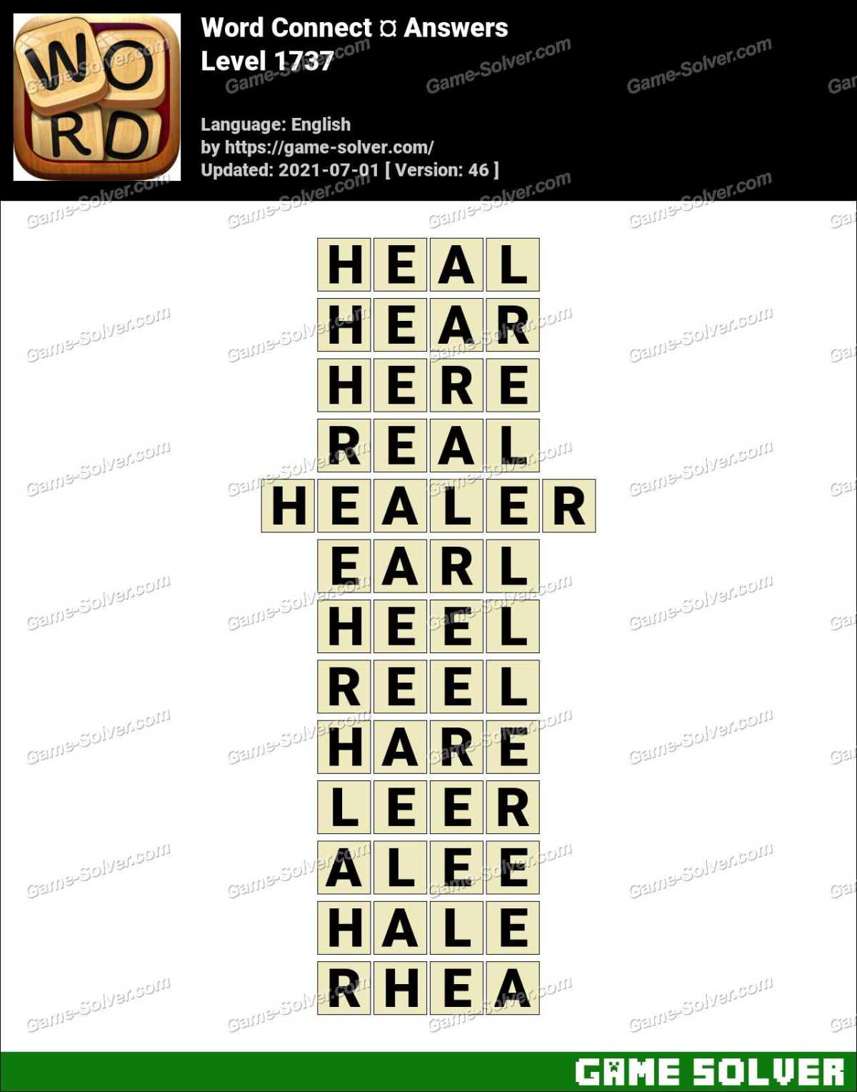 Word Connect Level 1737 Answers