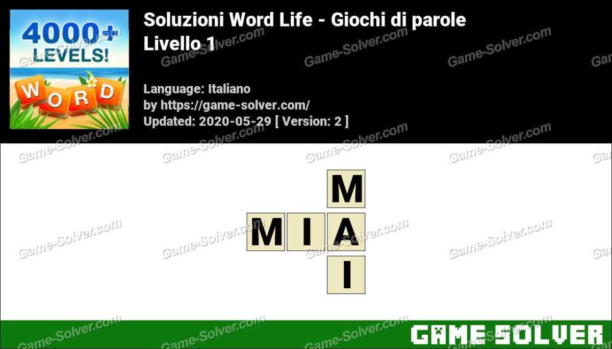 Soluzioni Word Life Livello 1