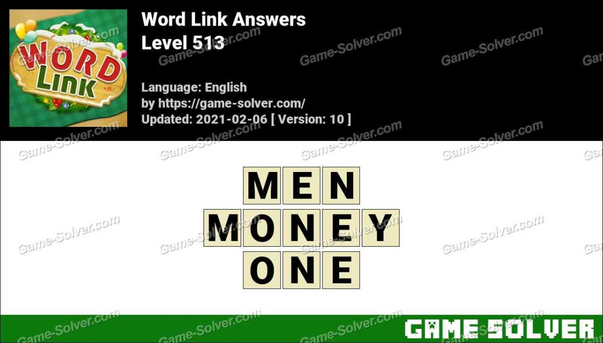 Word Link Level 513 Answers