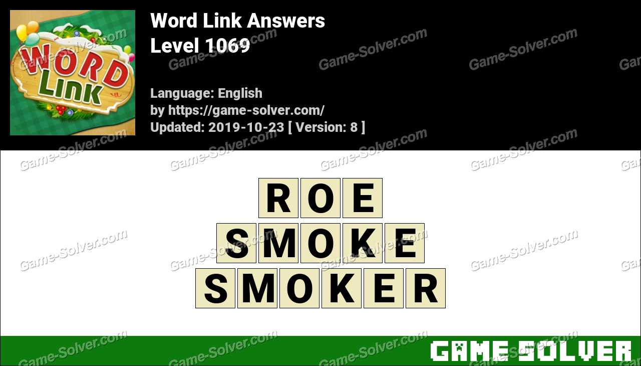Word Link Level 1069 Answers
