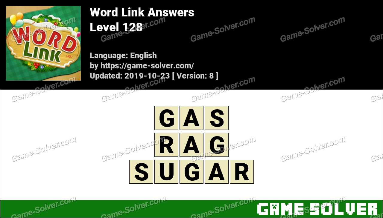 Word Link Level 128 Answers