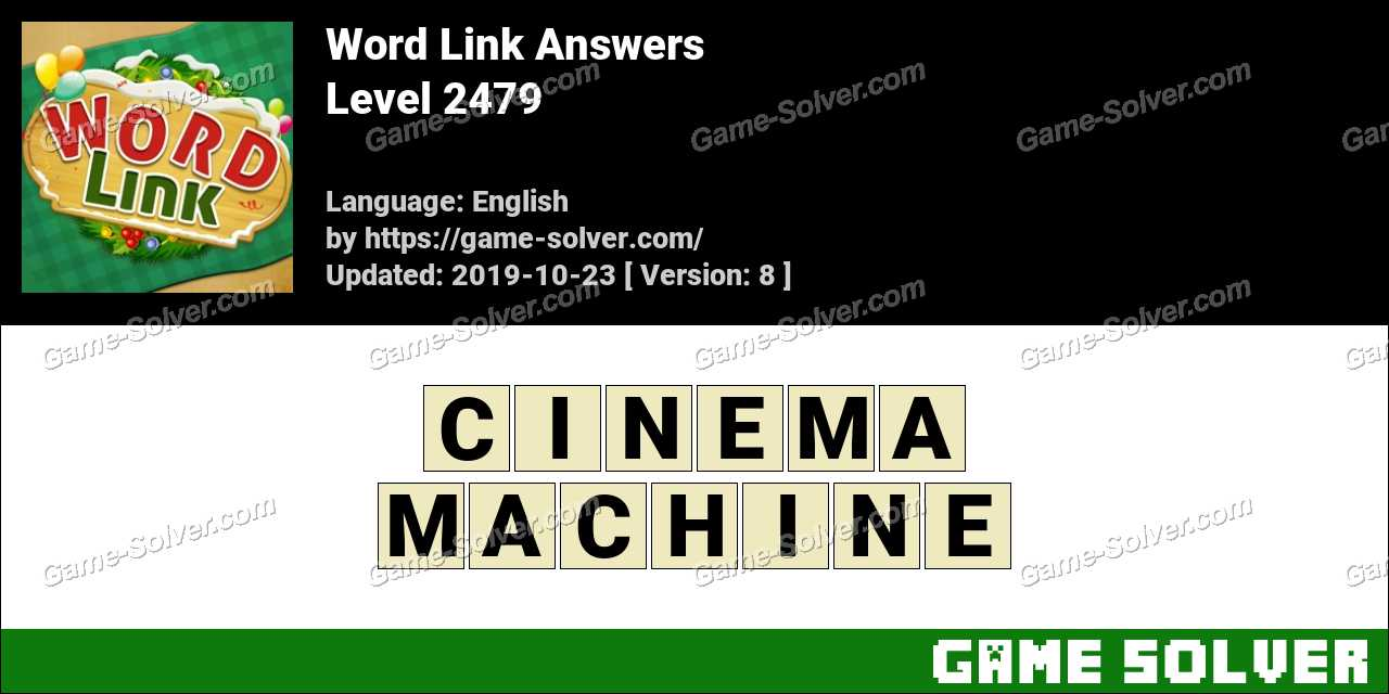 Word Link Level 2479 Answers