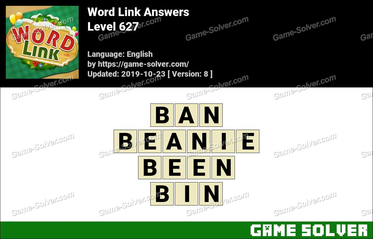 Word Link Level 627 Answers