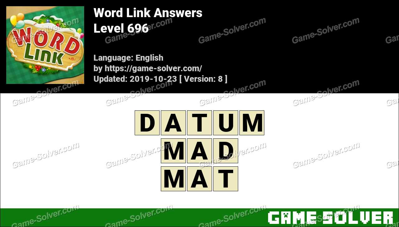 Word Link Level 696 Answers