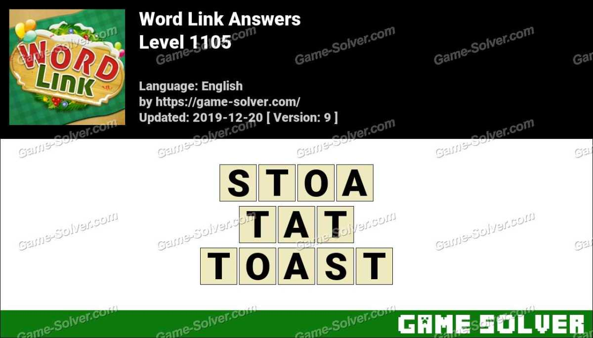 Word Link Level 1105 Answers