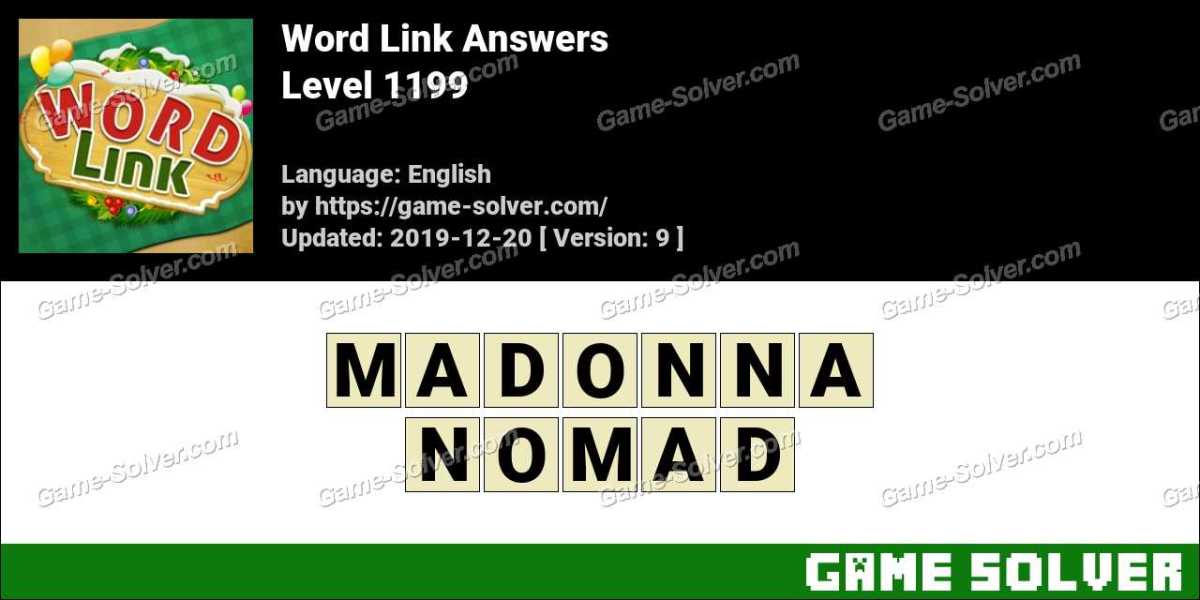 Word Link Level 1199 Answers