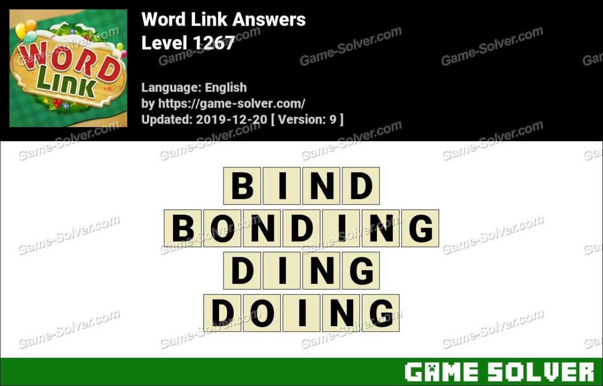 Word Link Level 1267 Answers