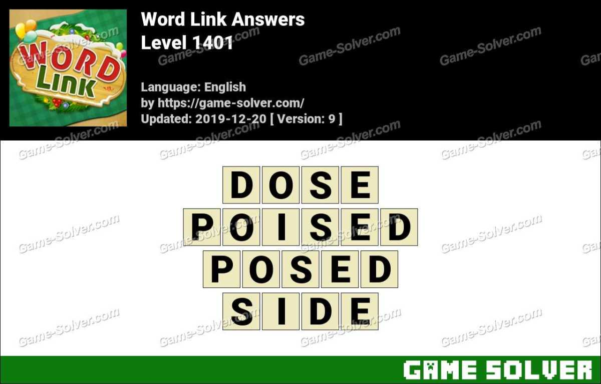 Word Link Level 1401 Answers