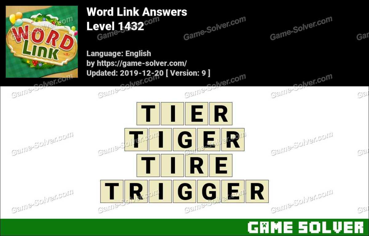 Word Link Level 1432 Answers