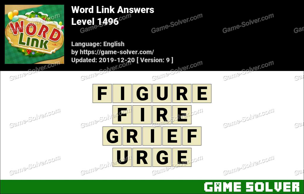 Word Link Level 1496 Answers