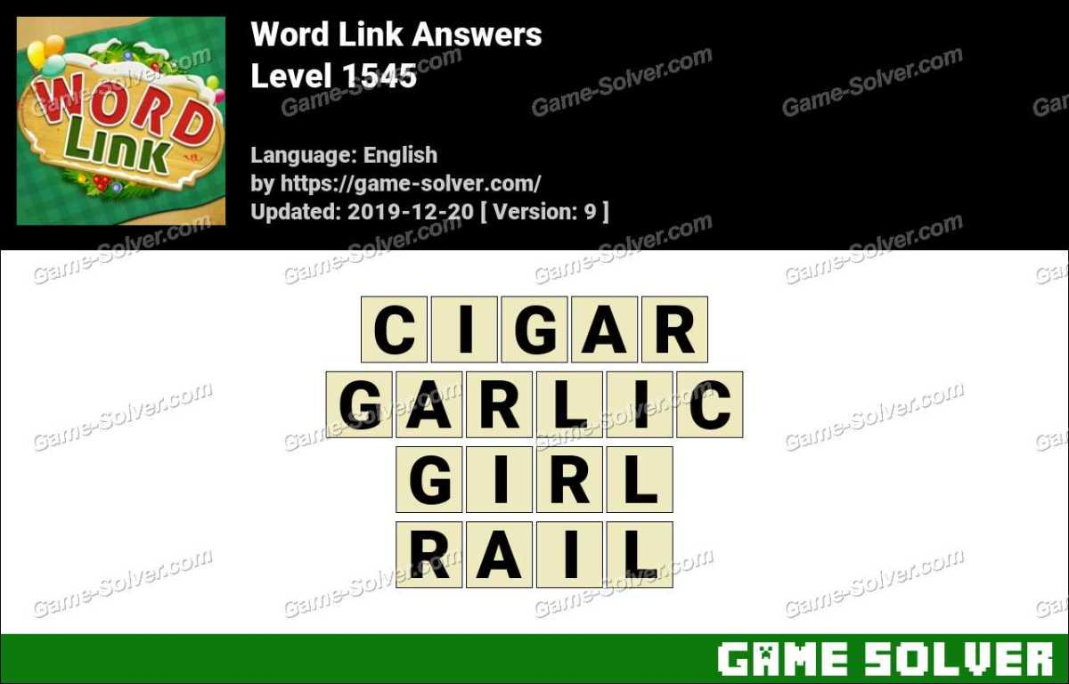 Word Link Level 1545 Answers