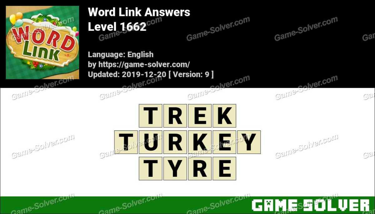 Word Link Level 1662 Answers