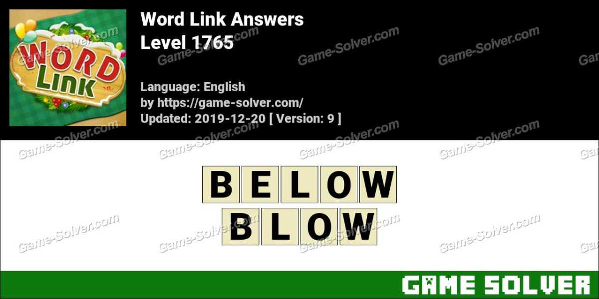 Word Link Level 1765 Answers