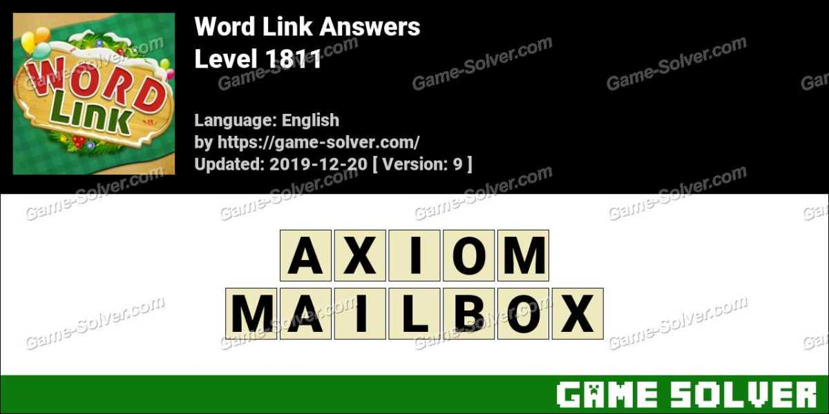 Word Link Level 1811 Answers
