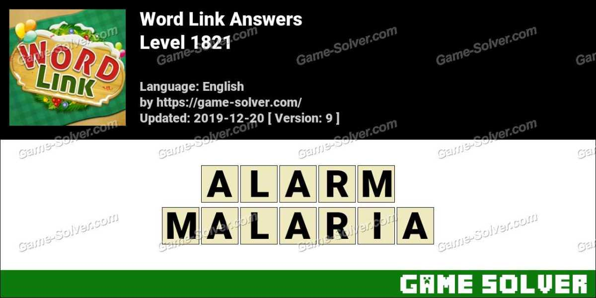 Word Link Level 1821 Answers