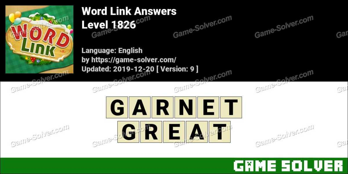 Word Link Level 1826 Answers