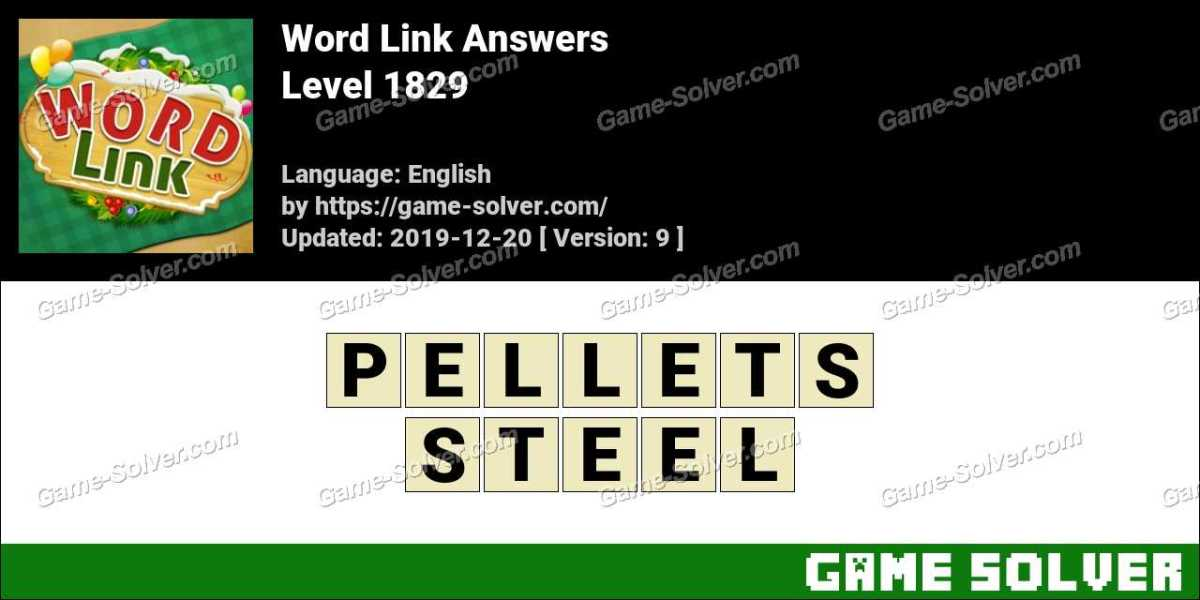 Word Link Level 1829 Answers