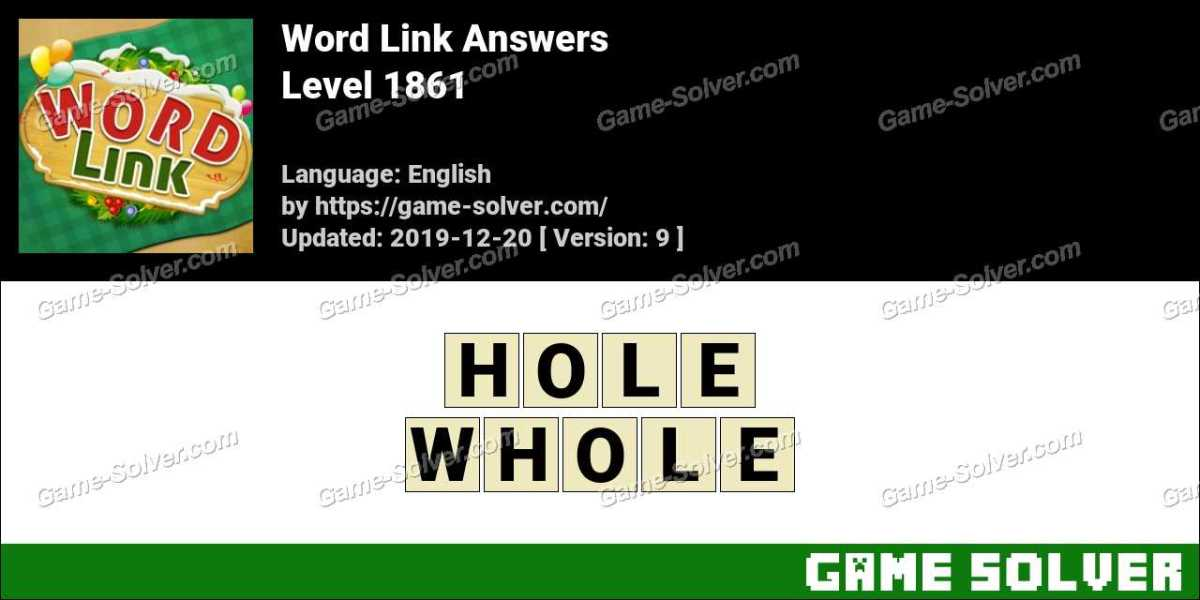 Word Link Level 1861 Answers