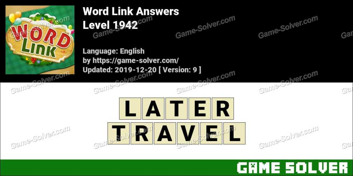 Word Link Level 1942 Answers