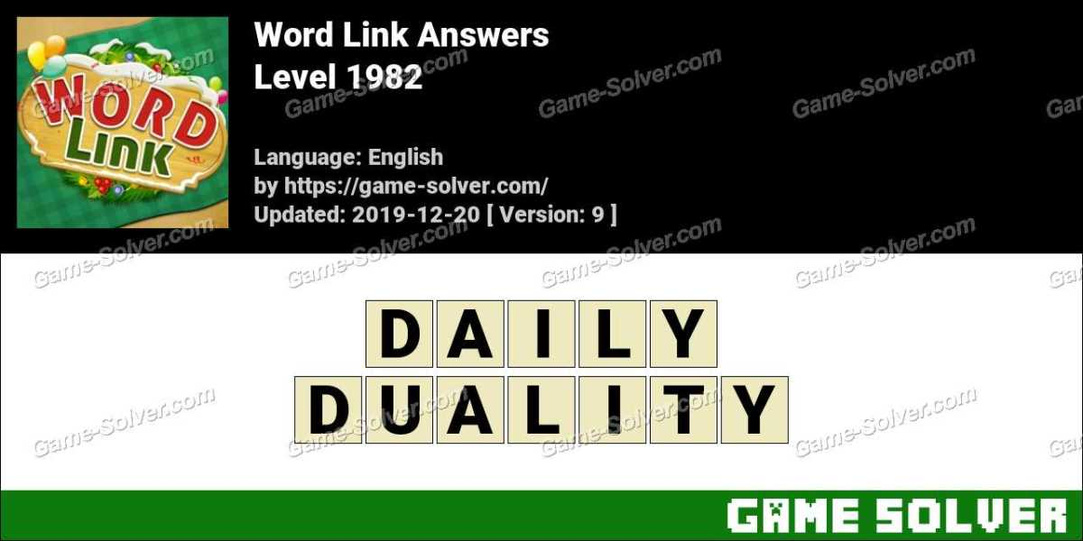 Word Link Level 1982 Answers