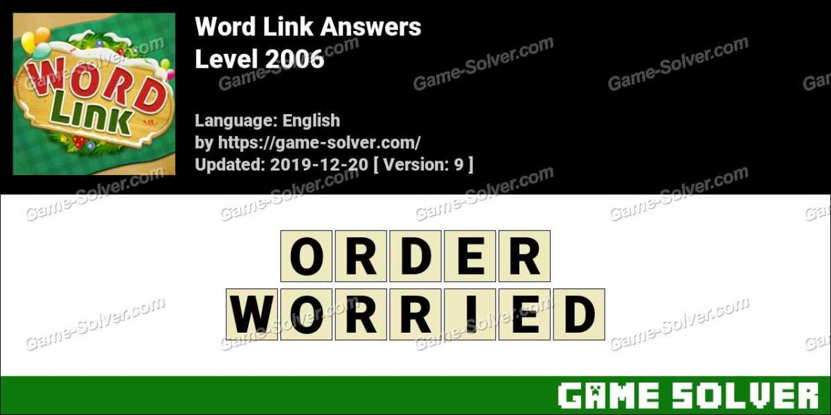 Word Link Level 2006 Answers