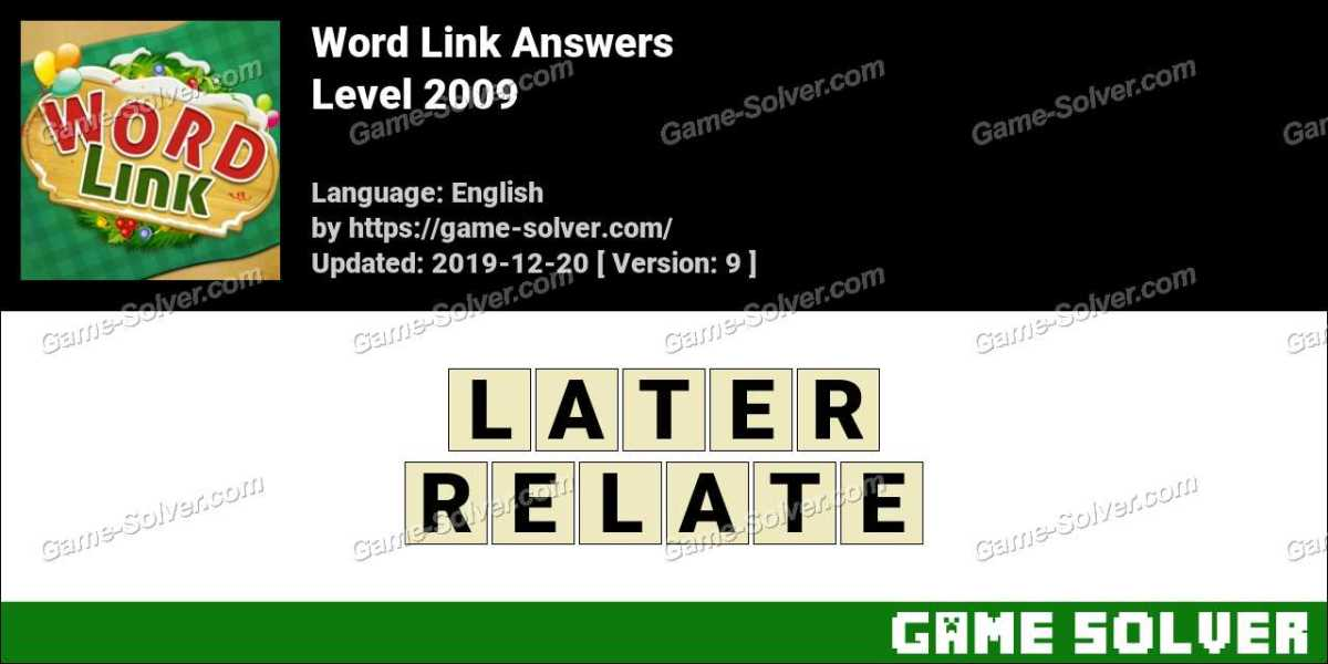 Word Link Level 2009 Answers
